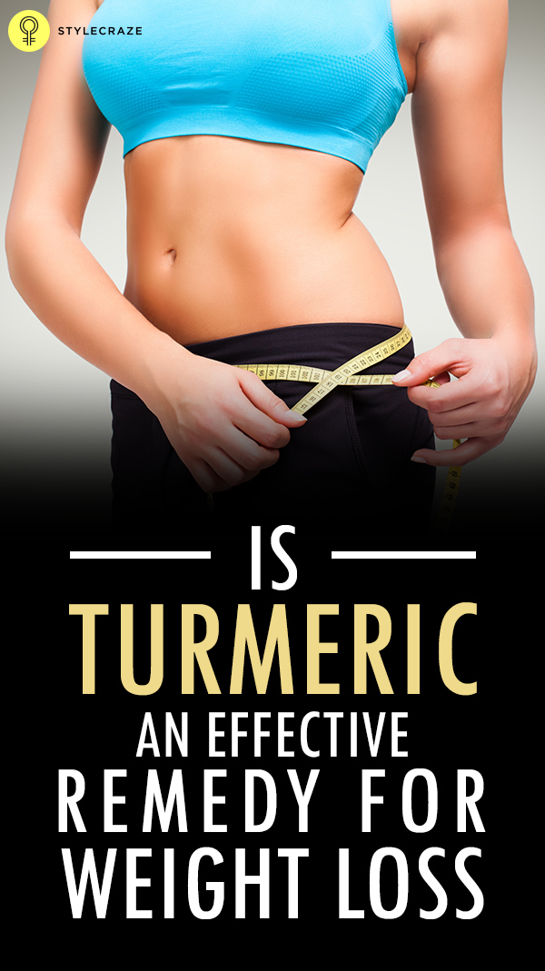 is turmeric an effective remedy for weight loss