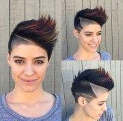 short spiky hairstyles