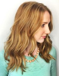 Two Tone Hair Color Blonde On Top Brown On Bottom | www ...