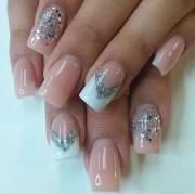 creative acrylic nail design