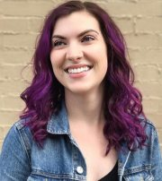 pretty purple highlights ideas