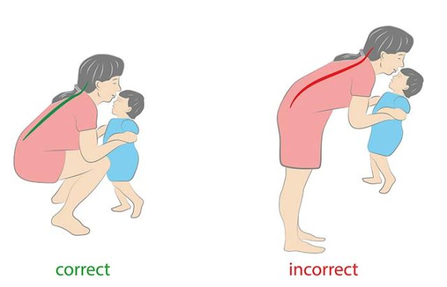 7. Posture Problem Due To Lifting Carrying A Baby