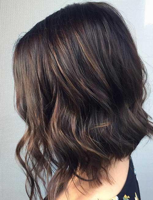 Highlights On Dark Brown Hair Makeupsite