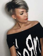 trendy balayage short