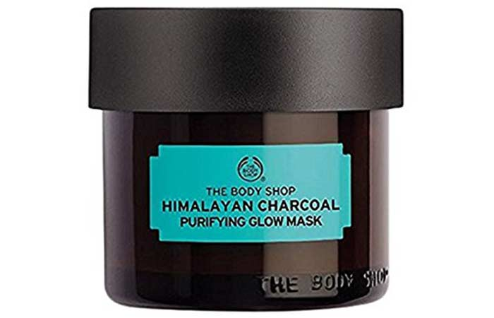 7. The Body Shop Charcoal Body Clay