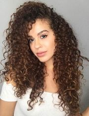 types of curls curly