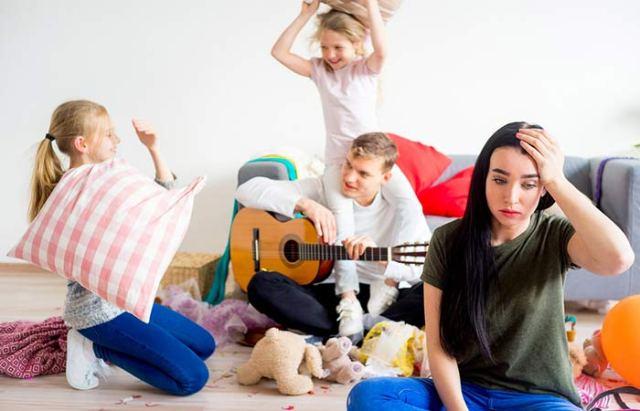 Studies Show That Husbands Stress Women Twice As Much As Children
