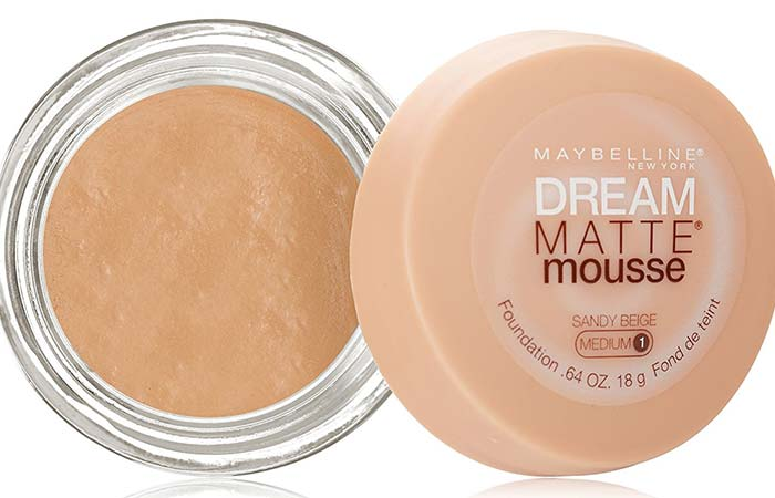 MAYBELLINE DREAM MATTE MOUSSE FOUNDATION REVIEW