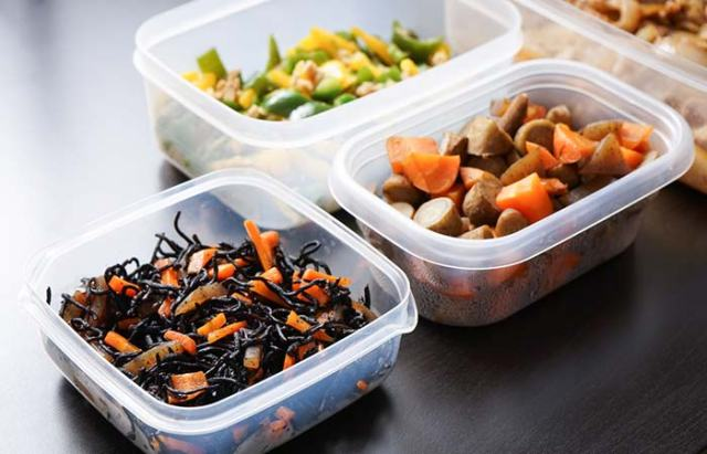 Rationing Your Food In Containers Made Of Plastic