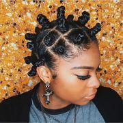 bantu knots hairstyles
