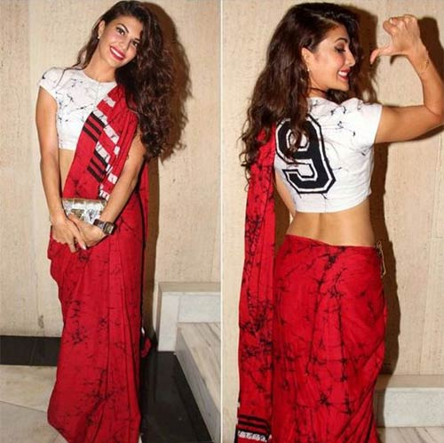 Crop-Top-Saree Tired Of Old Saree Drapes? Try 21 Modern Styles No One Told You About! Random
