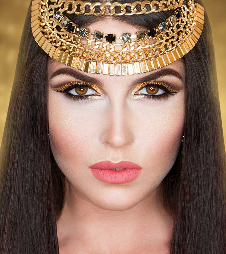 Egyptian Eye Makeup Tutorial With Pictures  Stylecraze