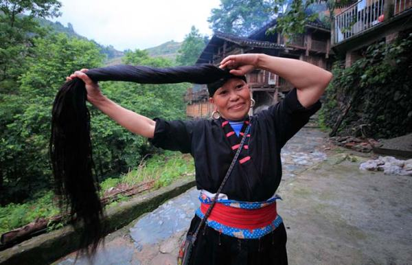 History of the use of rice water for hair