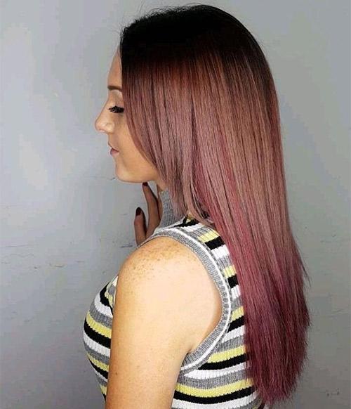 Pastel Rose Brown
