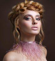 beautiful crown braid hairstyles