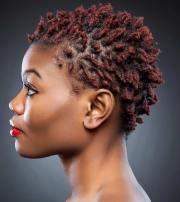 twa hairstyles short