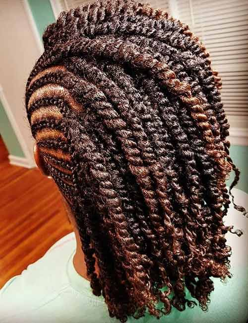 Havana Twists Undercut