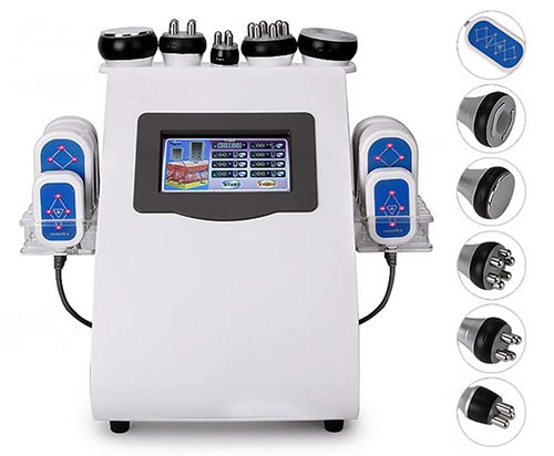 TTSTR 6 In 1 Multifunction Body Slimming Cavitation Treatment Machine