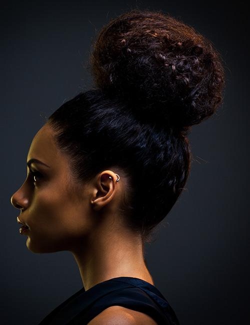 20 Fantastic Updos For Natural Hair