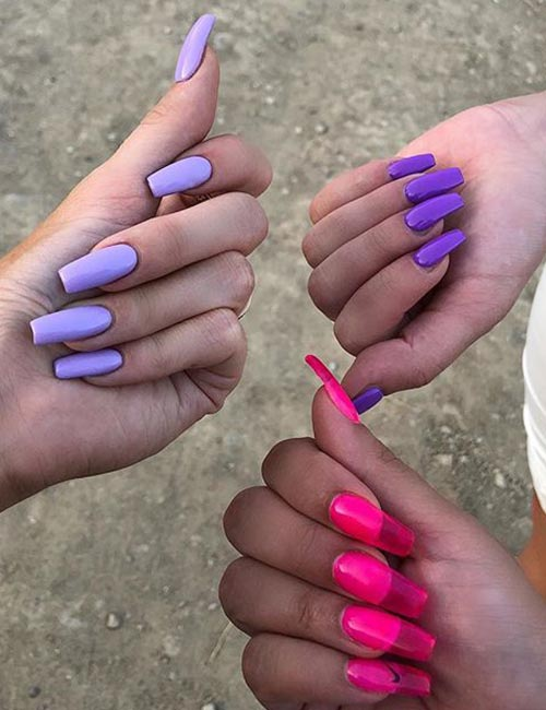 11 Ways To Wear The Jelly Nail Trend1