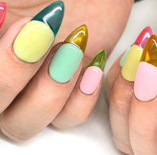 Ice Cream Candy On Your Nails