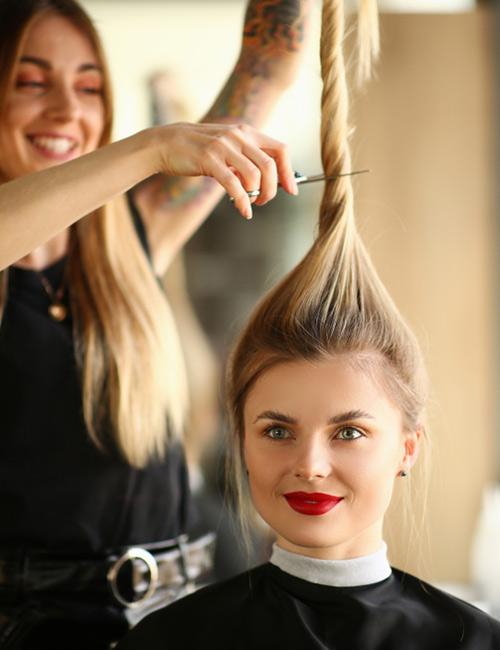 4 Ponytail Haircut Layers : ponytail, haircut, layers, Simple