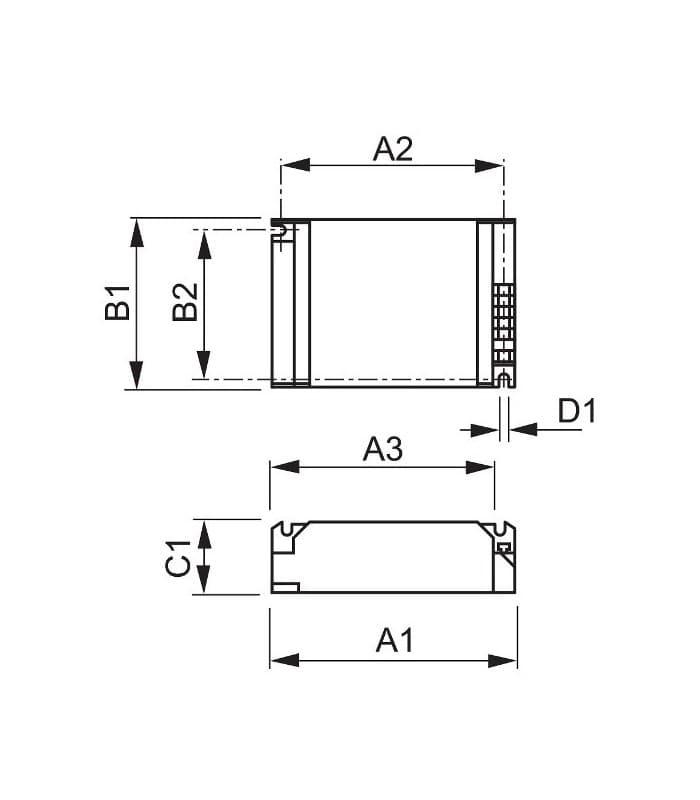 Philips HID-PV C 2x35 S 220-240V CDM 913700656866