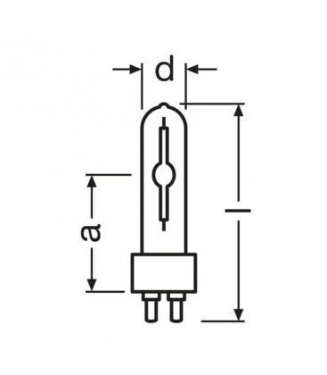 Osram HCI-t 150W-930 wdl pb G12 hci-t-150-930