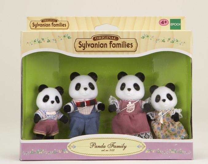 Panda Family  Sylvanian Families