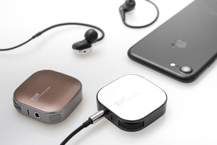 不僅有無線藍牙。還有無線充電。全球最小的無線耳擴 AQUA+ 現正預購中   T客邦