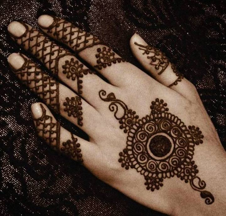 Mehndi Arabic Designs For Fingers 2015