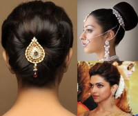 10 Indian Bridal Hairstyles for Long Hair