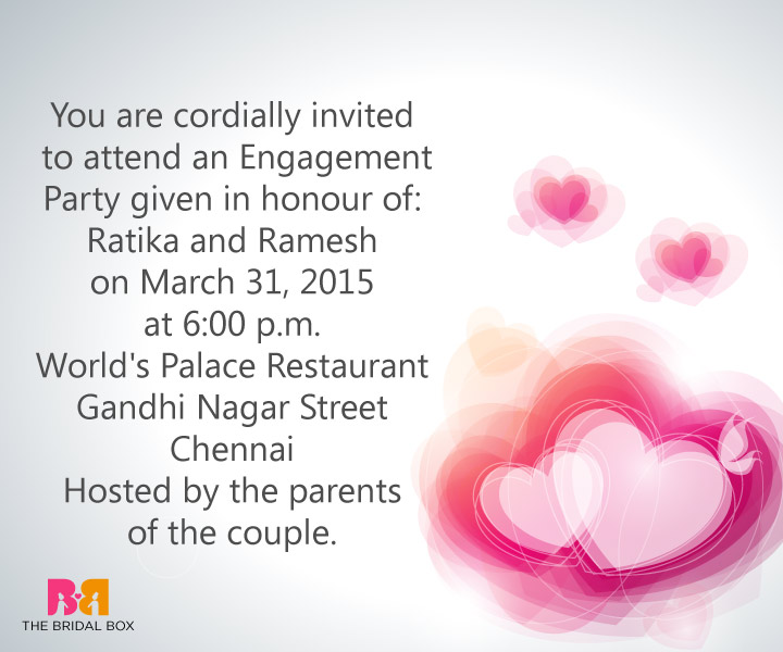 invitation message for party