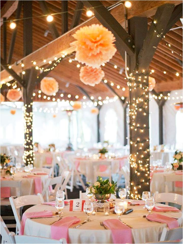 burlap bows for wedding chairs cotton chair covers ebay 10 cheerful coral decorations that are perfect your