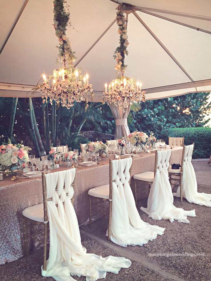 black chair covers party city karlstad cover uk 12 white wedding decoration ideas to brighten your big day