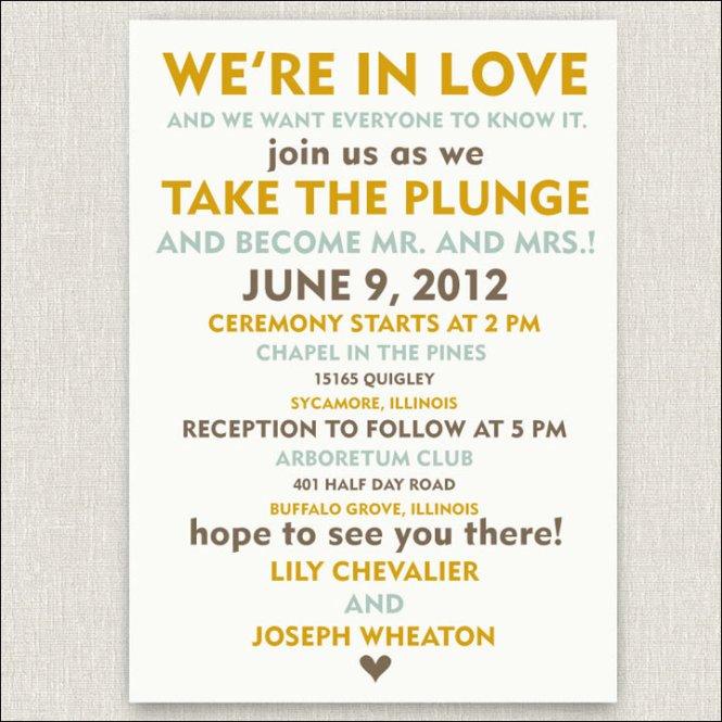 Wedding Invitations Wording Sample 1