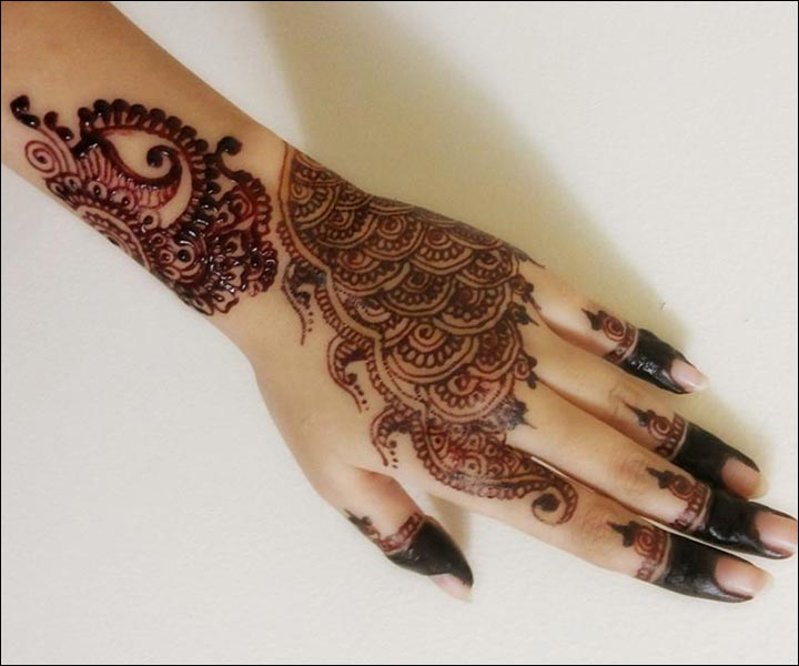 Pakistani Arabic New Mehndi Design