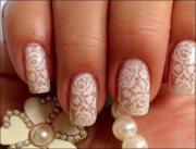 bridal nail art design ideas