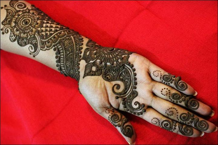 Muslim Mehndi Designs For Hands Images