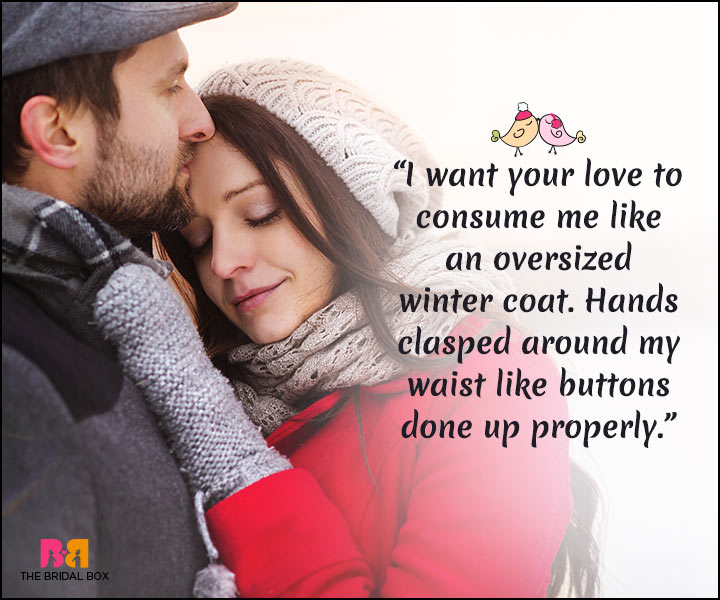 Winter Love Quotes 15 Quotes That Best Express A Lovers