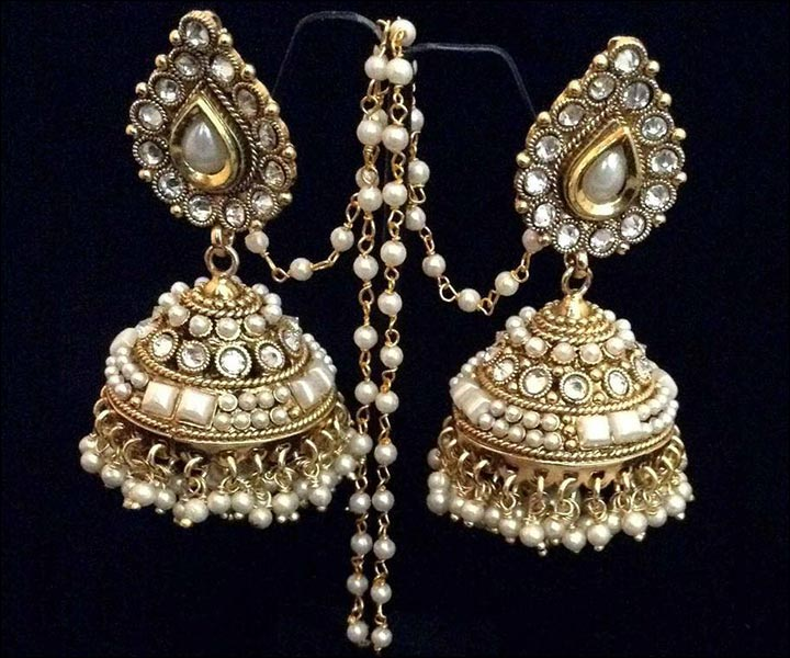 Bridal Earrings: 15 Bridal Earrings To Add Sparkle And