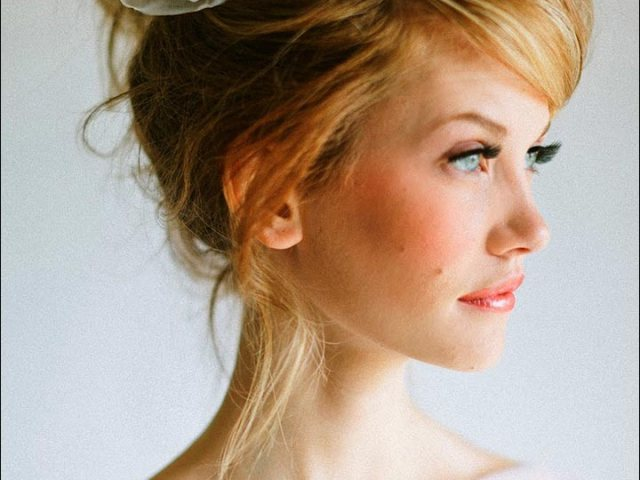 bridal hairstyles for medium hair: 32 looks trending this season