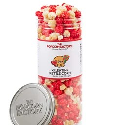 Clear Favorites Popcorn Canisters