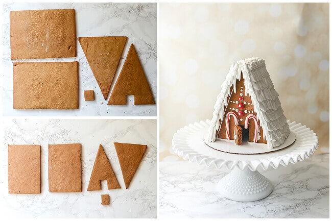 gingerbread house templates