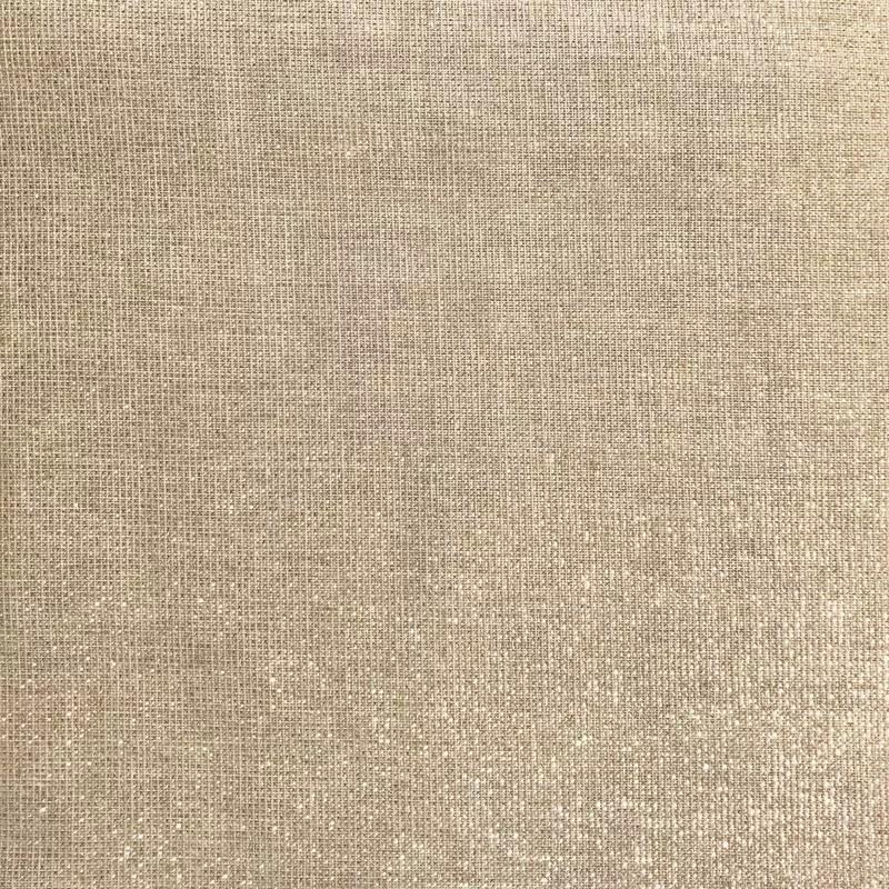 tissu aspect lin paillete or grande largeur