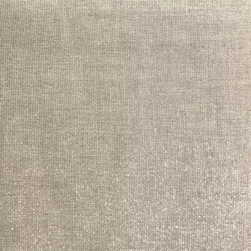 tissu aspect lin paillete argent grande largeur