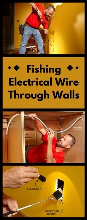 Wiring Through Block Wall