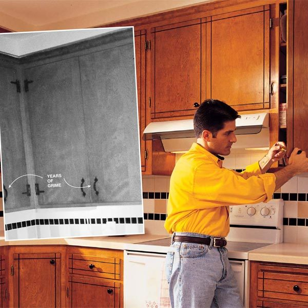 How To Refresh Kitchen Cabinets The Family Handyman