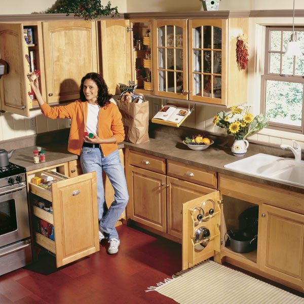 how to add a pantry your kitchen decorating cabinets storage projects that create more space the family handyman