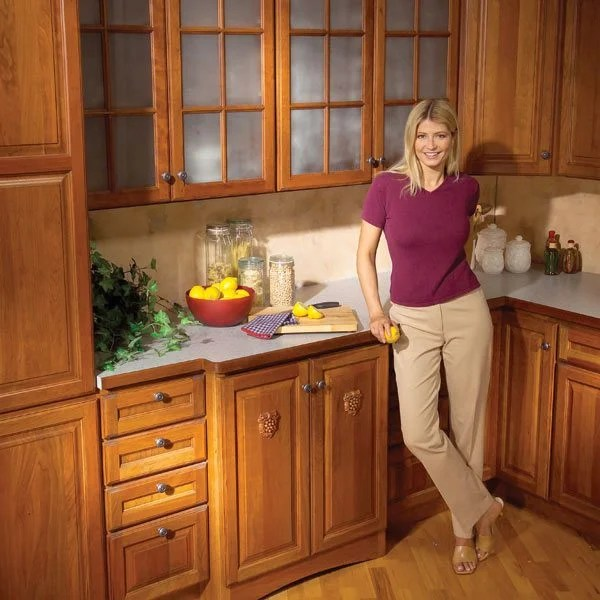 repair kitchen cabinets rustic faucet 9 easy repairs the family handyman